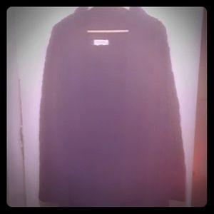 Long sleeve long Sweater jacket open in front